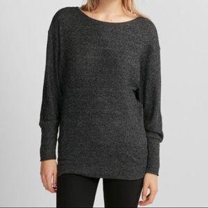 NEW Express Plush Jersey Ribbed Dolman Sweater M